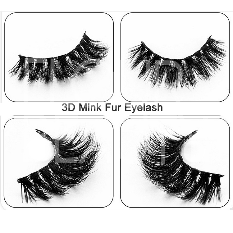 ade2ab7537f 3D volume mink eyelashes long lashes best quality China EA96 - Elour ...