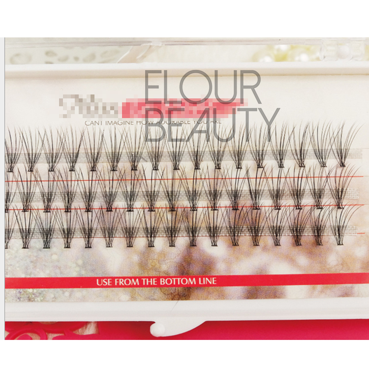 3D,6D Korean silk individual eyelashes extensions ES42