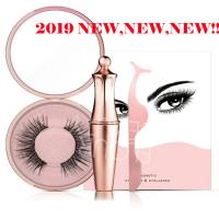 2019 new fashion liquid magnetic eyeliner with package EY15