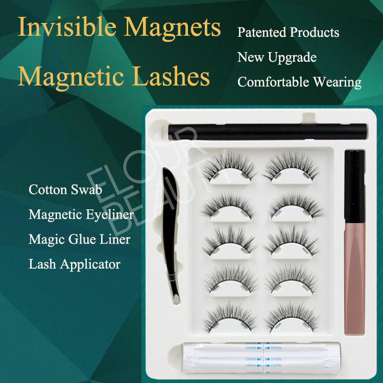2021 newest invisible magnetism magnetic eyelashes...