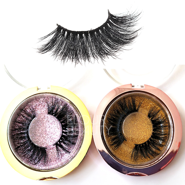 Private label 25mm 5D mink wholesale eyelash vendors EL130