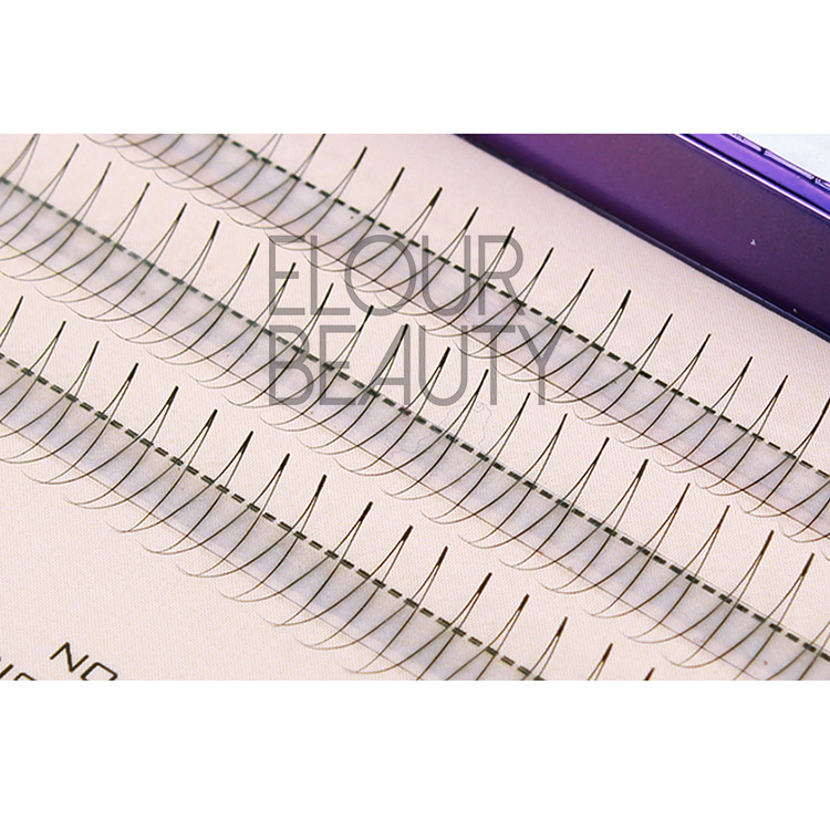 Long lasting best natural individual false eyelashes EJ23