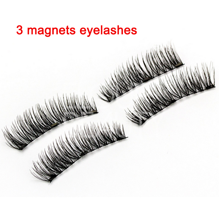 Best 3 magnets eyelashes reusable and easy to use China ED18