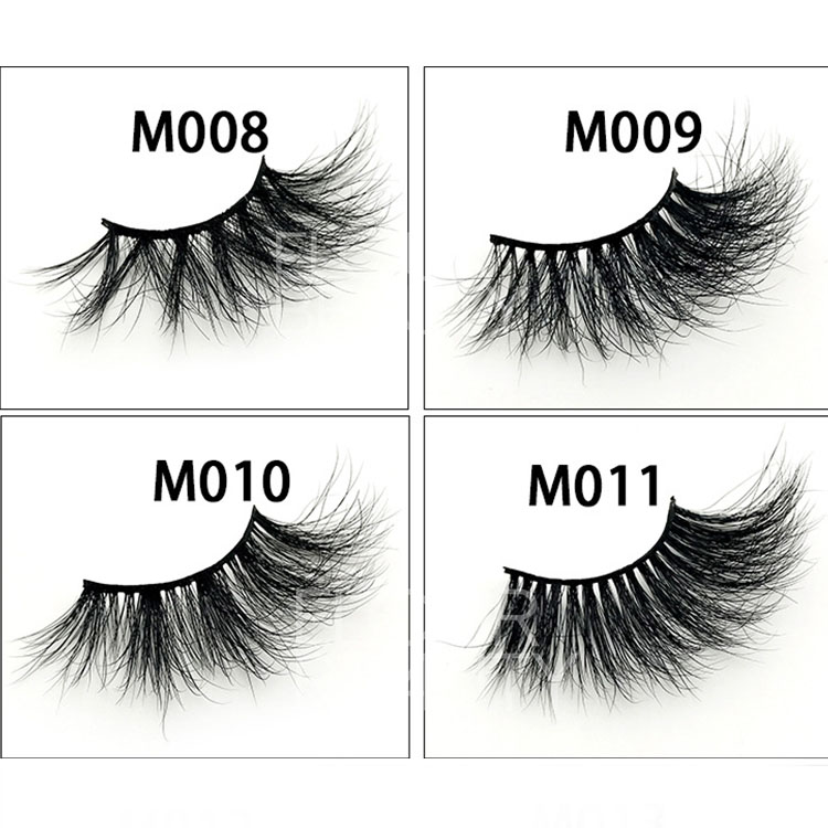 New fluffy 27mm,30mm 5D mink long lashes mink lashes vendor EY40