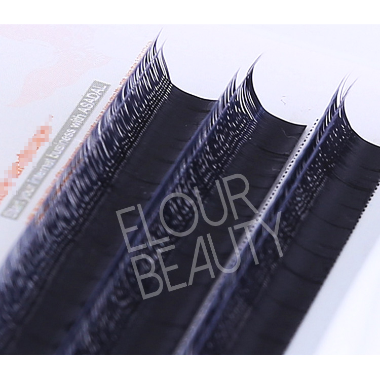 New arrival double layers volume eyelashes extension EJ21