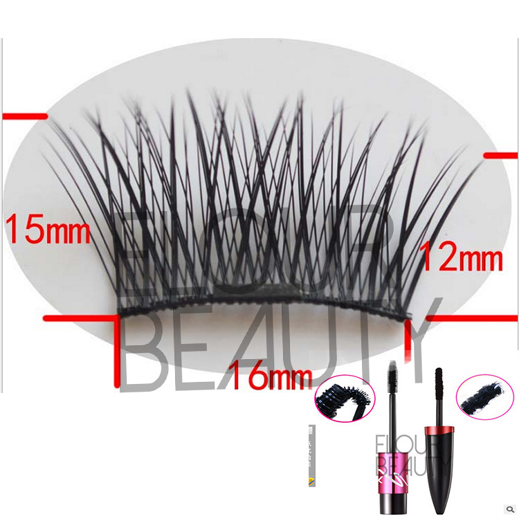 Top quality magnetic lashes with magnetic mascara wholesale  EA23
