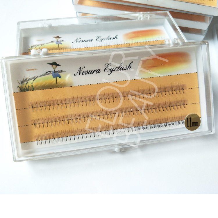3D fanned eyelash extension supplies private label China EA79
