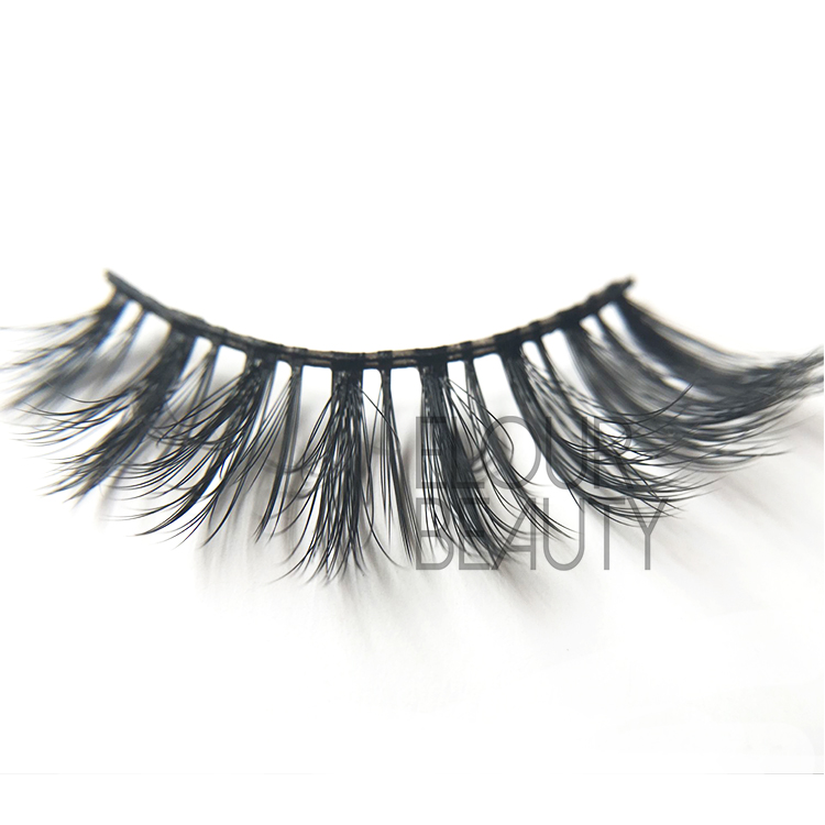 Top quality 3D mink faux eyelashes UK EJ60