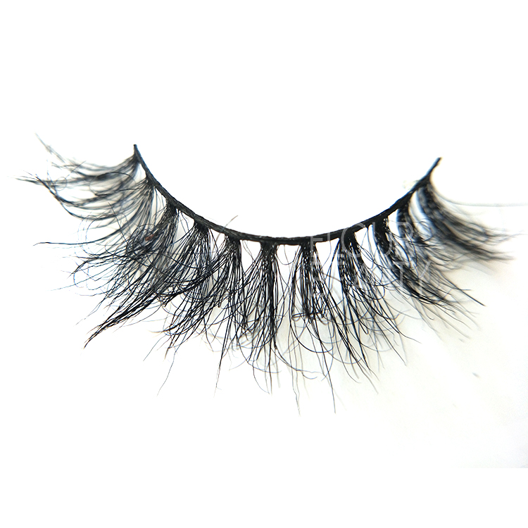 Wholesale custom 3D horse fur eyelashes online ED58 - Elour