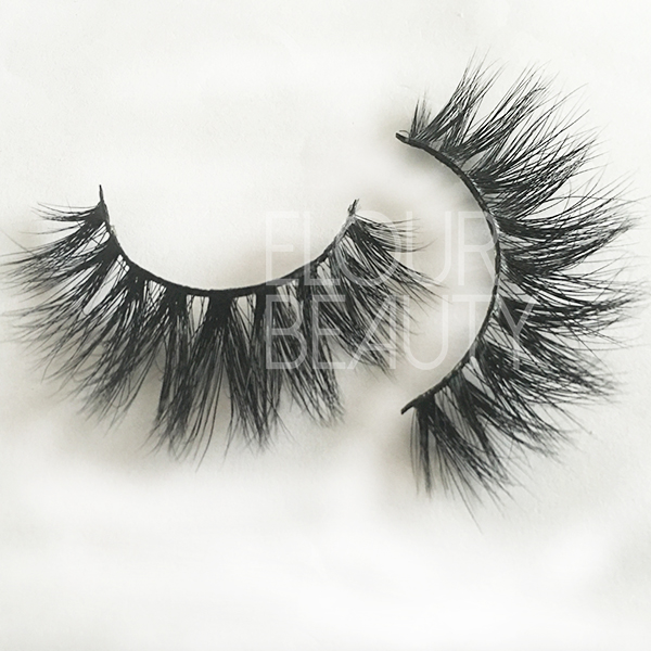 Siberian 3d wholesale mink eyelash custom magnetic box EA31
