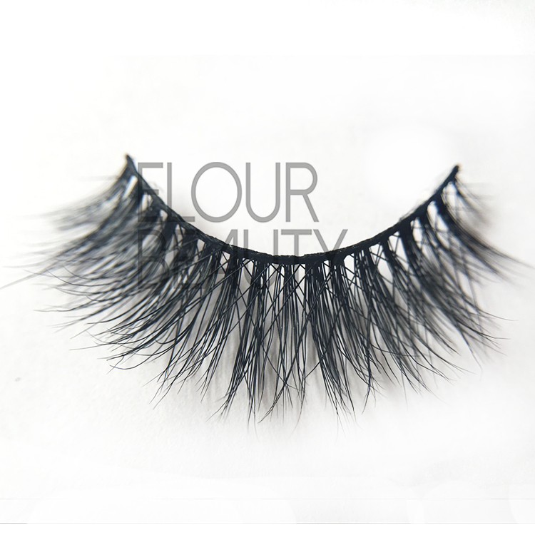 3D mink lashes with false eyelash applicator EJ34
