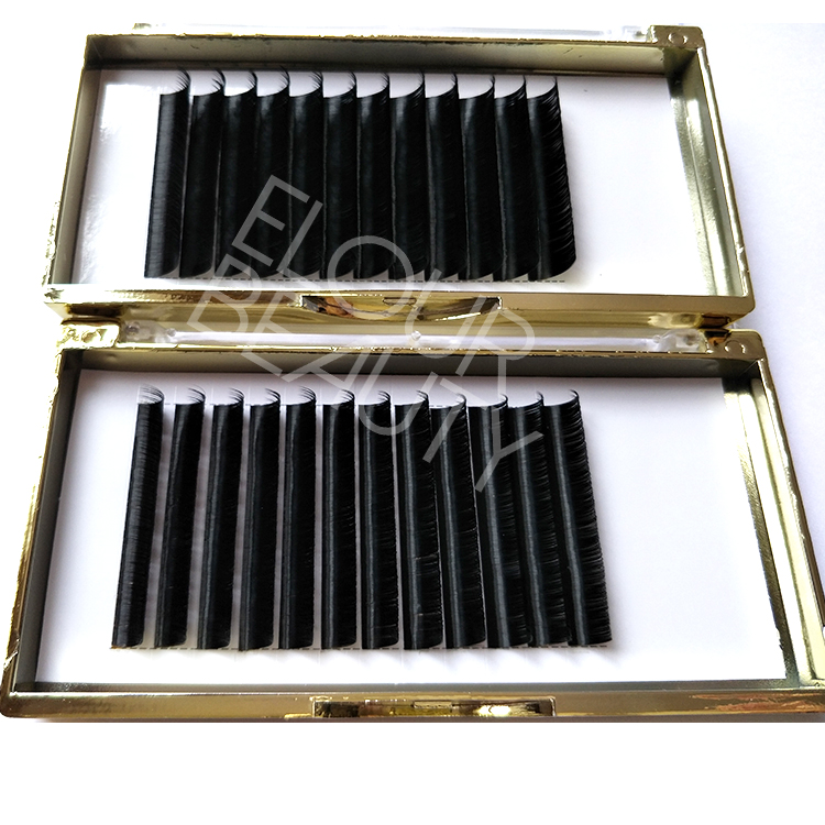 Private label 3D individual eyelash extensions factory ED109