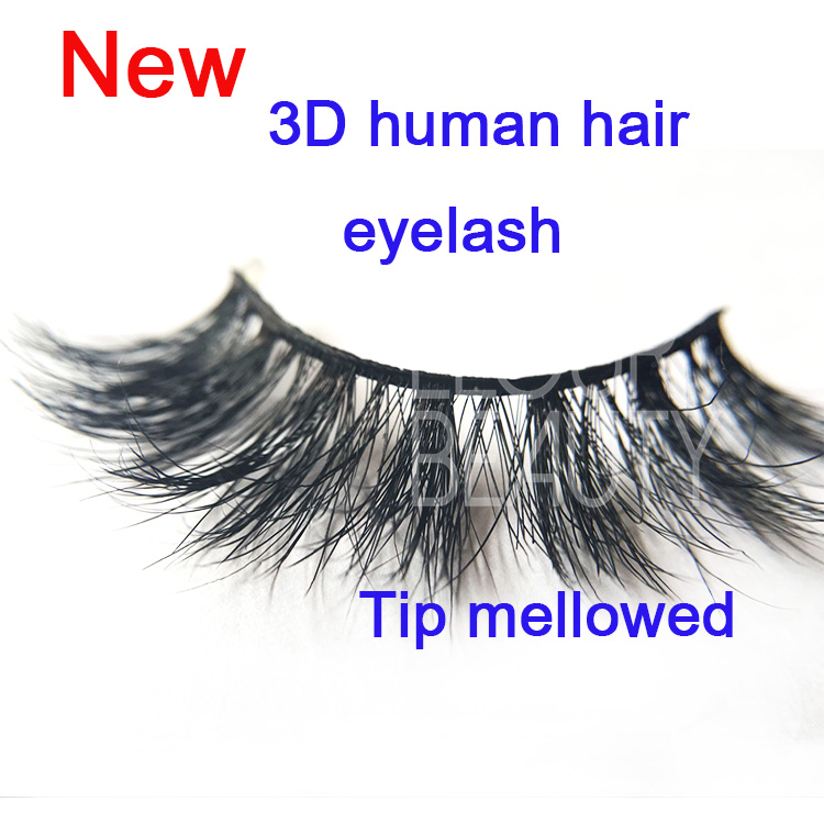 Best private label human hair eyelashes manufacturer ES88