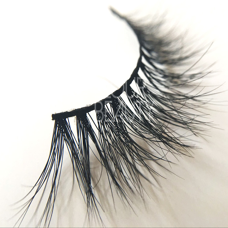 Pretty 3D mink fur eyelashes with magnetic eyelash box EA43