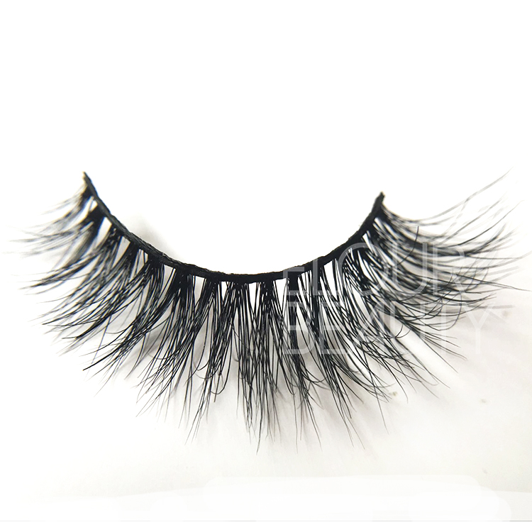 3D real mink permanent false eyelashes China manufactures EJ79