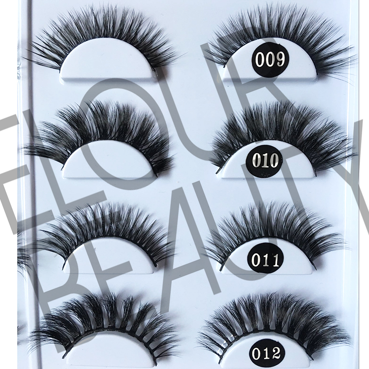 3D silk eyelashes wholesale China manufacturer EJ39