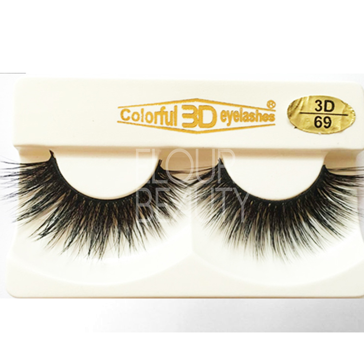 3D silk lashes the best cheap false eyelashes China EJ86