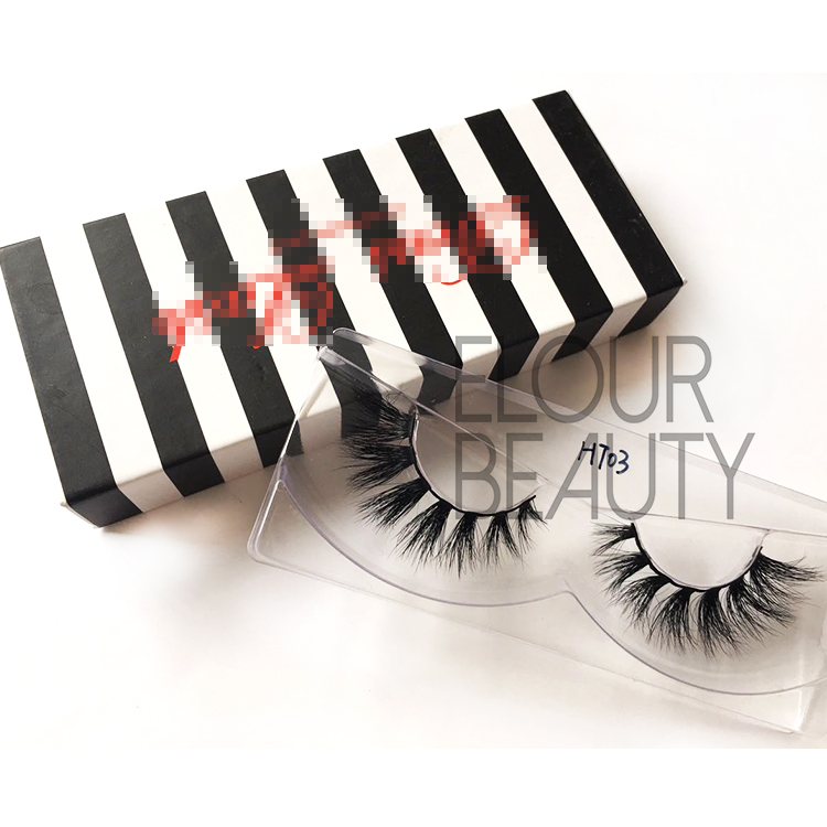 Best selling natural 3D mink eyelashes extensions EJ15