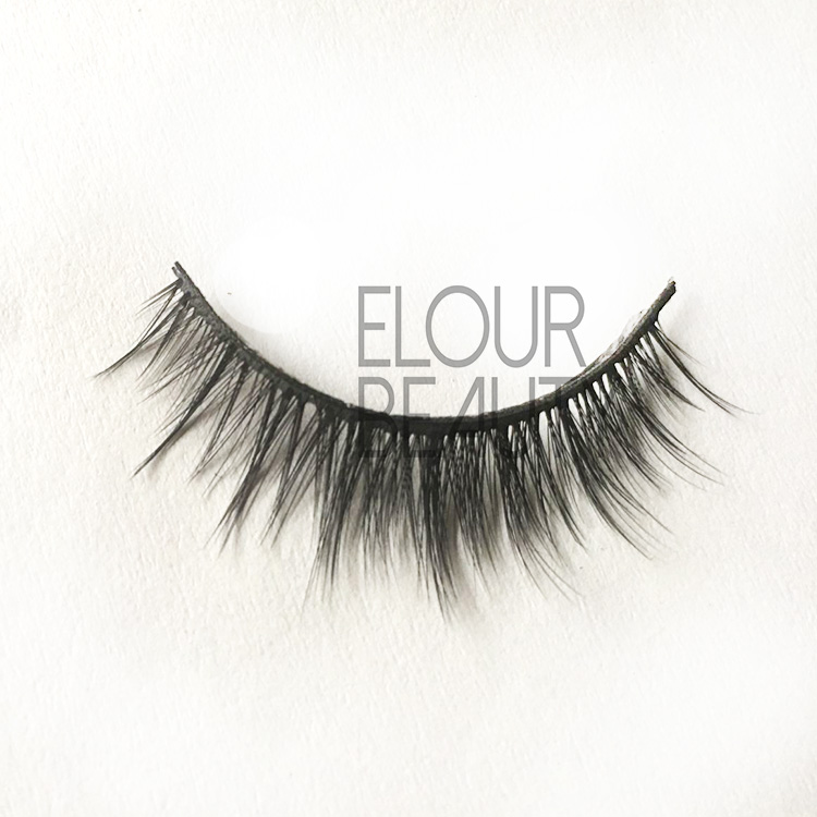Reusable velvet soft Korean silk hair 3d lashes EJ25