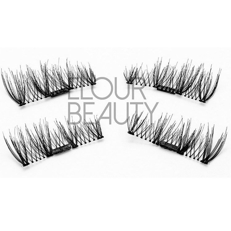 Ultra-lightweight 3d magnetic lashes natural looking wholesale EA11