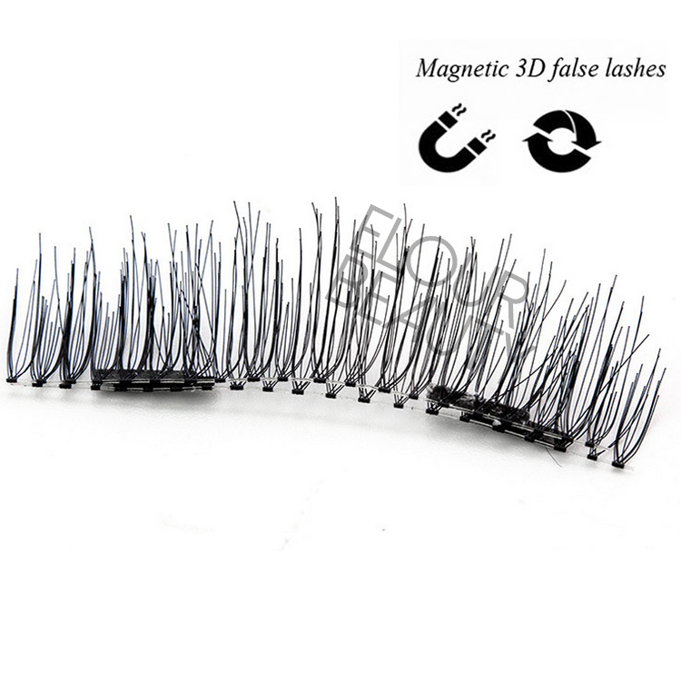 3D double magnetic lashes with private lable magnetic box EA59