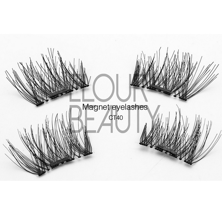 Hot selling magnetic eyelashes China factory wholesale EA20
