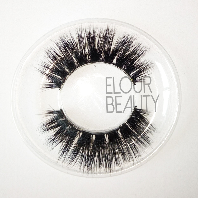 100% siberian 3D mink eyelashes China factory wholesale EA51