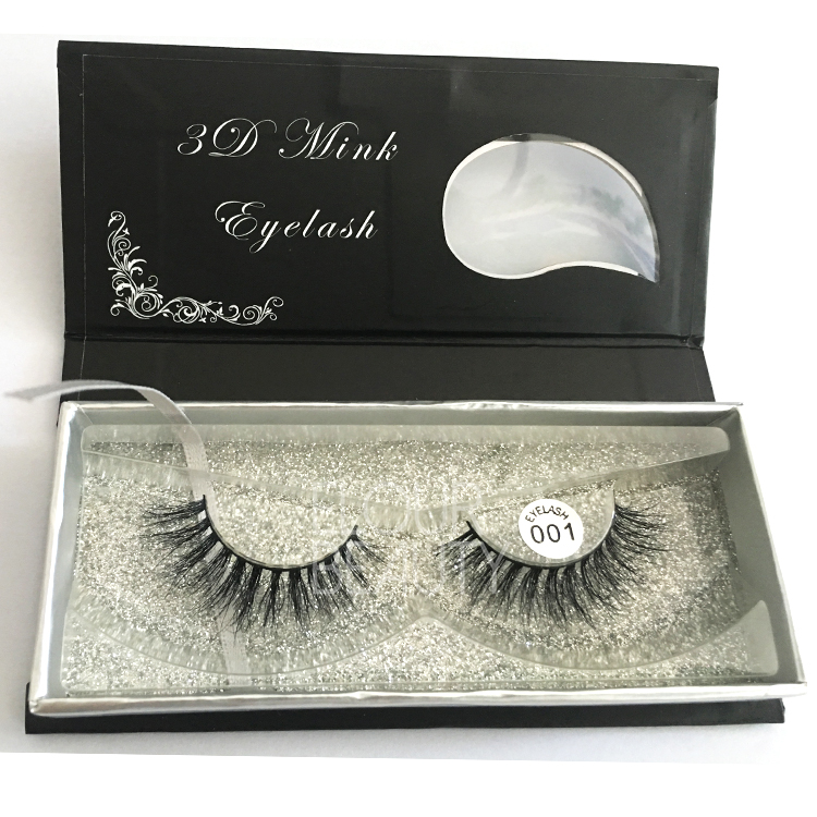 Natural 3D mink eye lash extensions China factory EA78