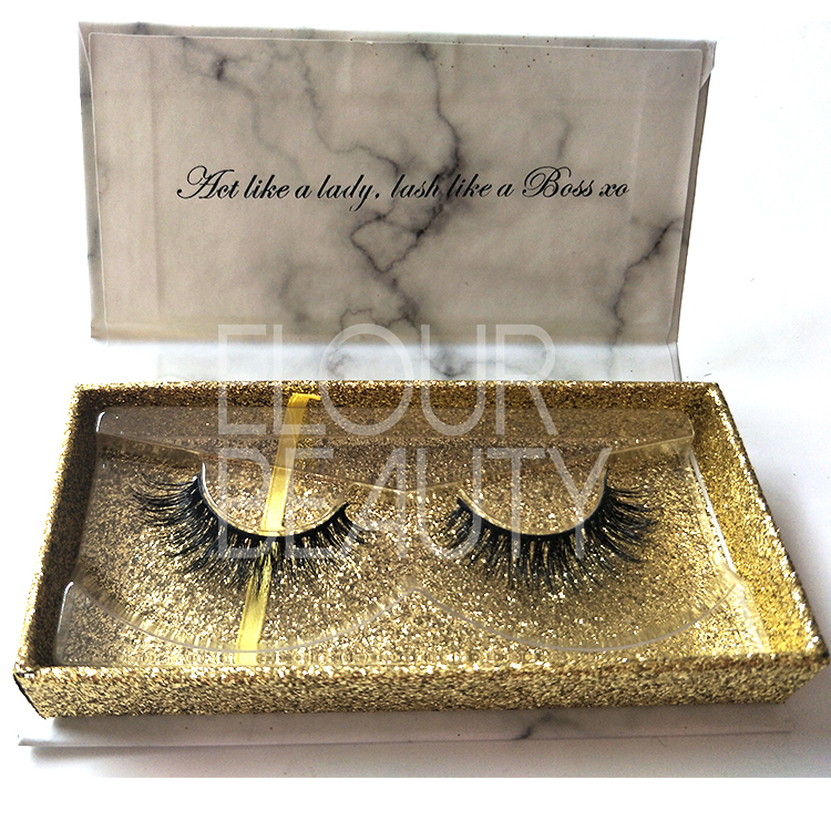 Luxury 3D mink lashes factory high quality low price ED59