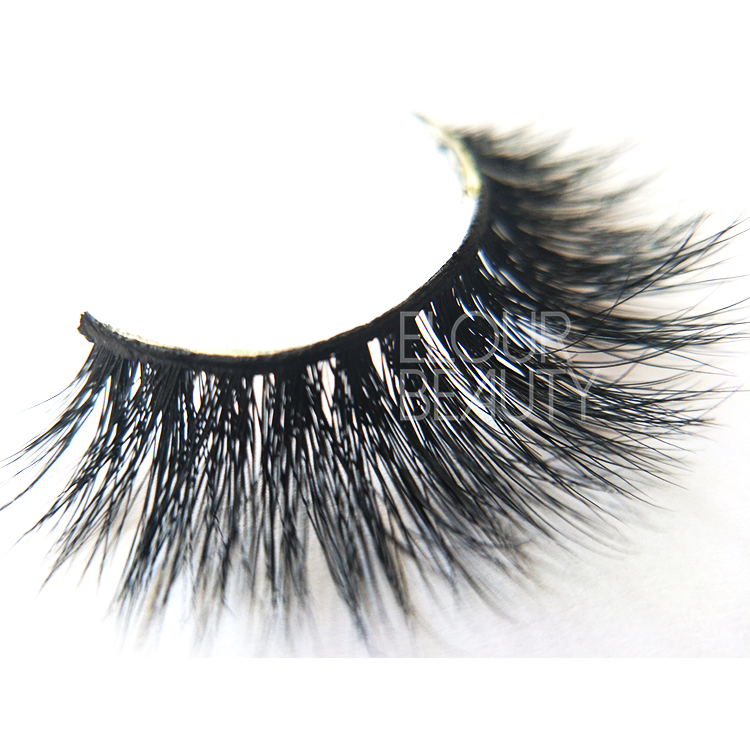 Best 3D volume mink fake eyelashes factory China ED73