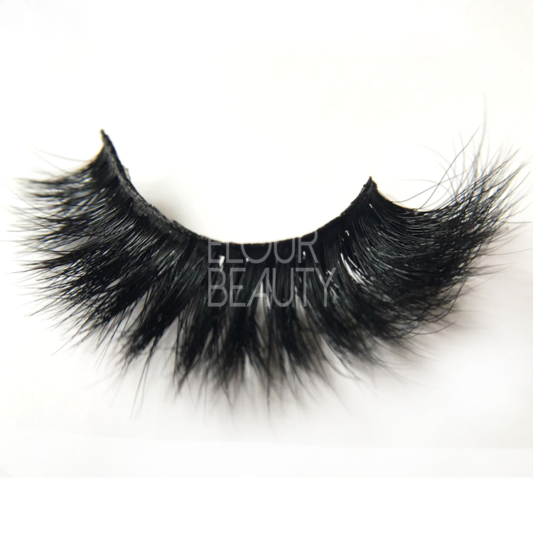 Factory supply mink 3D double eyelashes China EJ49