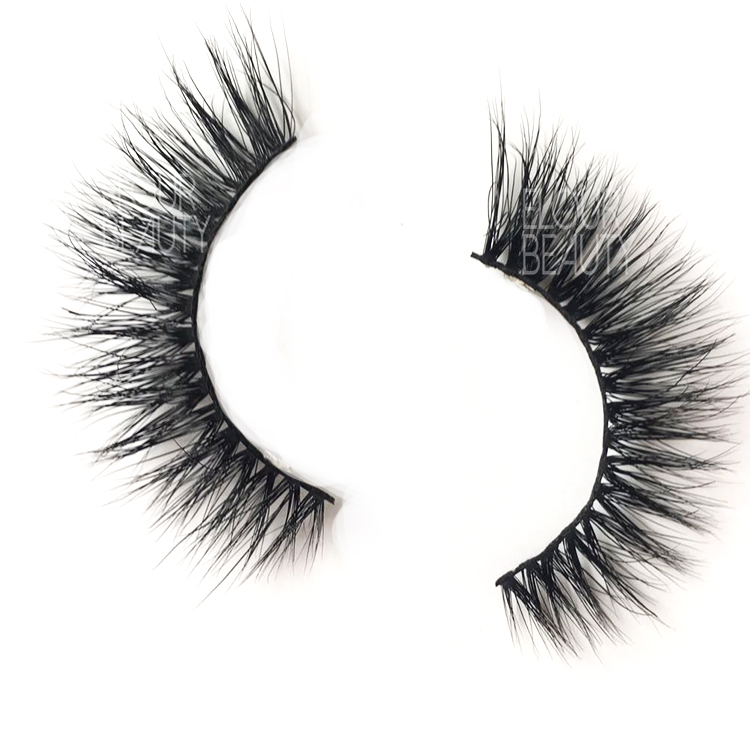 Siberian mink 3d eyelashes USA with customer brand EJ64