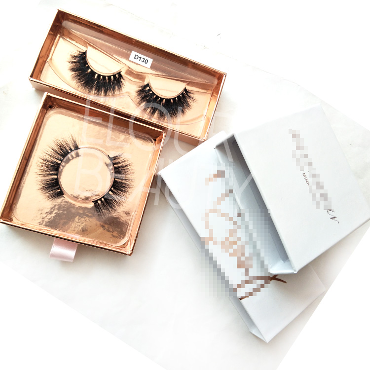 Customized Private Label 3D Real Mink Fur Best Eyelash wholesale EL72