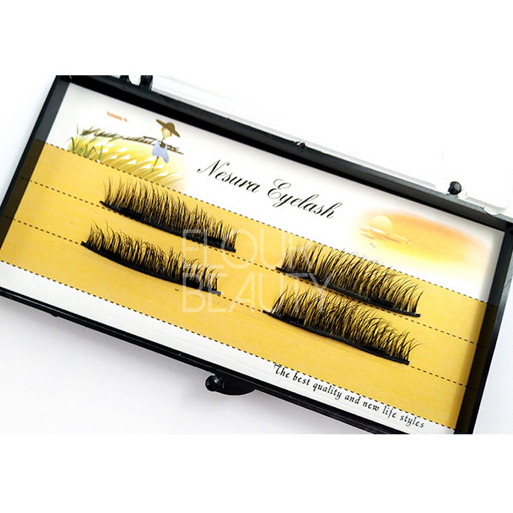 Silk 3D magnetic false eyelashes one by one China EA115
