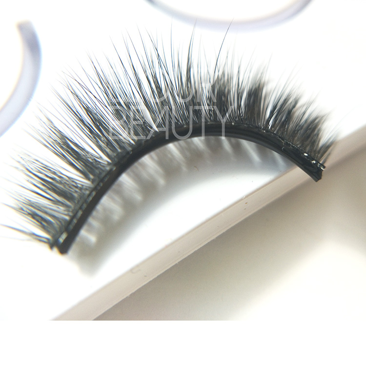 Self-adhesive lashes are reusable crazy eyelashes ED19