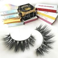 Custom 3D luxury mink lash vendors wholesale private label EL102