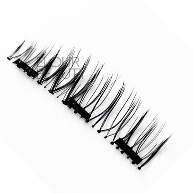Magic 3 magnets false eyelashes China wholesales EA86