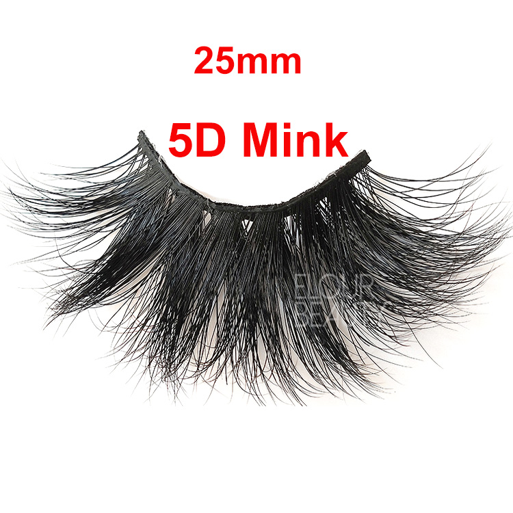 Private label 5D mink lash vendors wholesale EL135