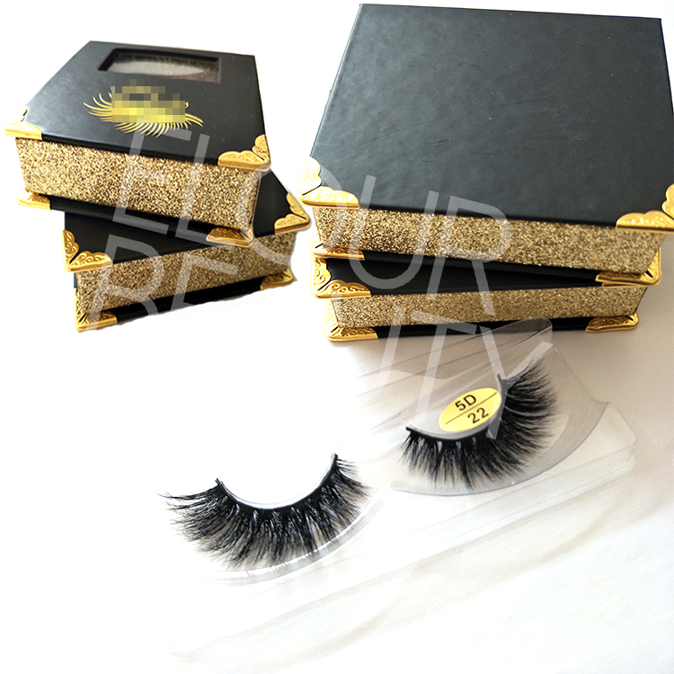 95c2de137c1 Private label volume wispy 5D mink lash vendors China EL82 - Elour ...