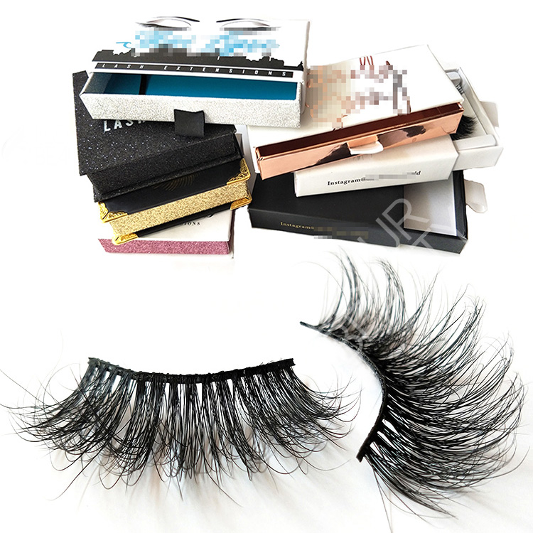 2019 newest makeup 5d mink lashes private label wholesale EY07