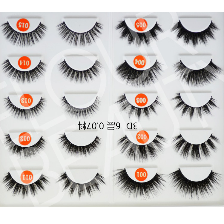 ecdf0b5584e Soft 3D volume silk lash different kinds large quantity wholesale EA116
