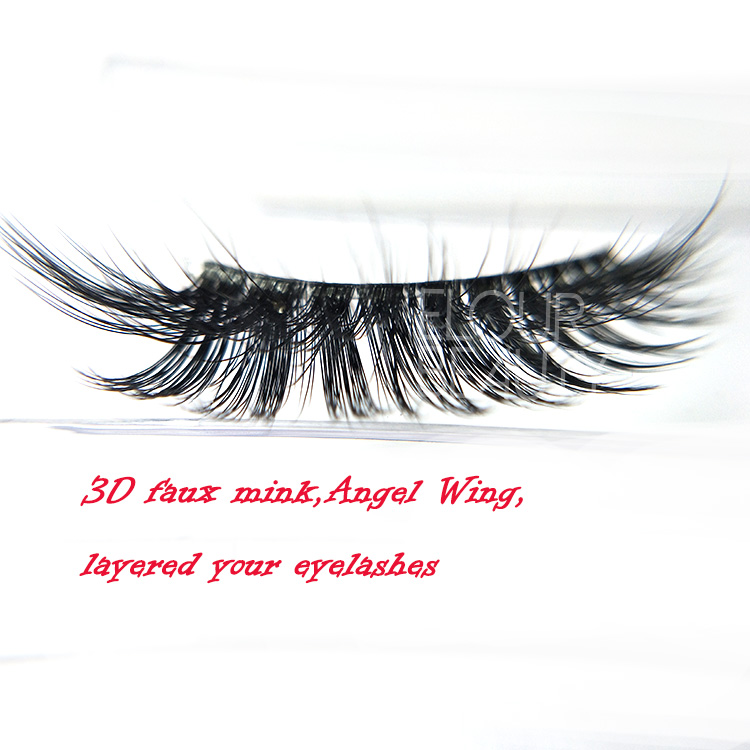 283d01207b0 Newest Russian volume 3D faux mink eyelashes invisible band manufacturer  EL31