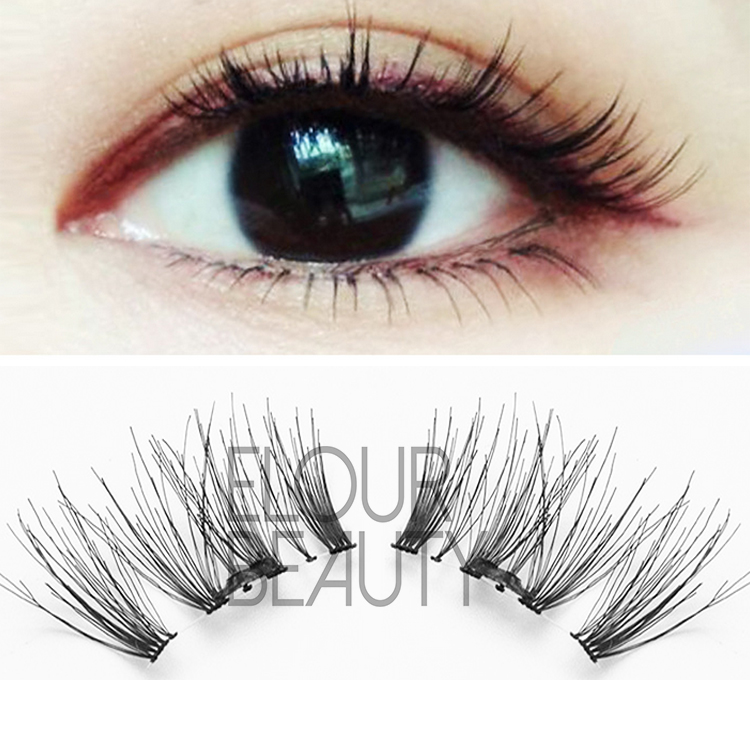 3D magnetic eyelash extensions China factory wholesale EA49