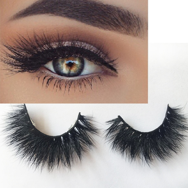 High Quality Private Label 100% Real 3d Mink Lashes ES48