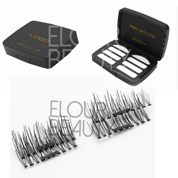 Perfect 3D magnetic eyelash vendors China ED02