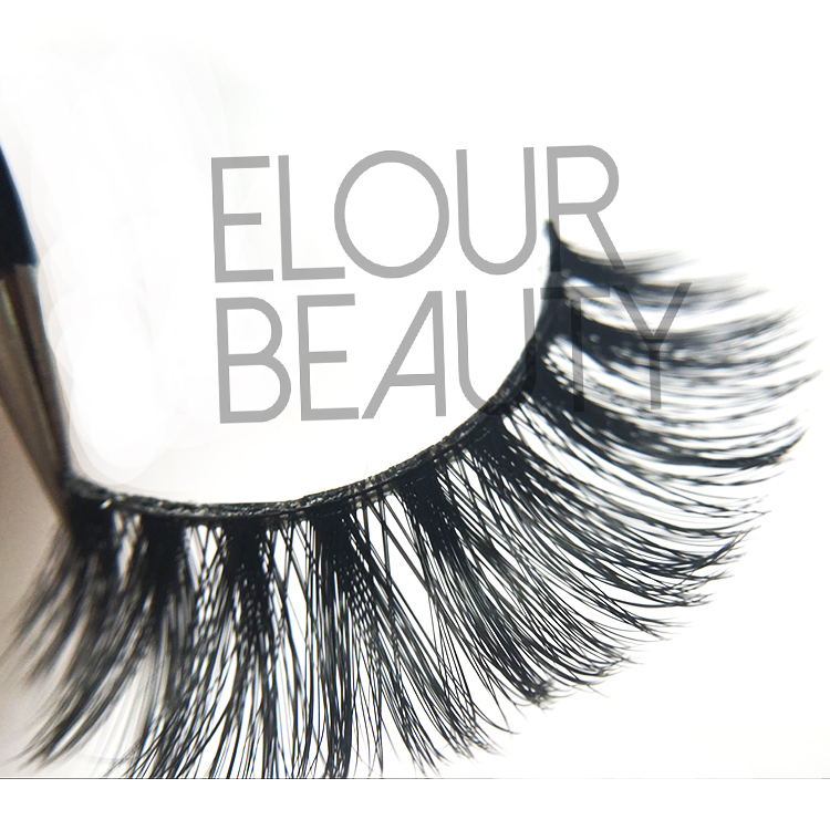 3d  invisible band eyelashes in low price high quality EJ58