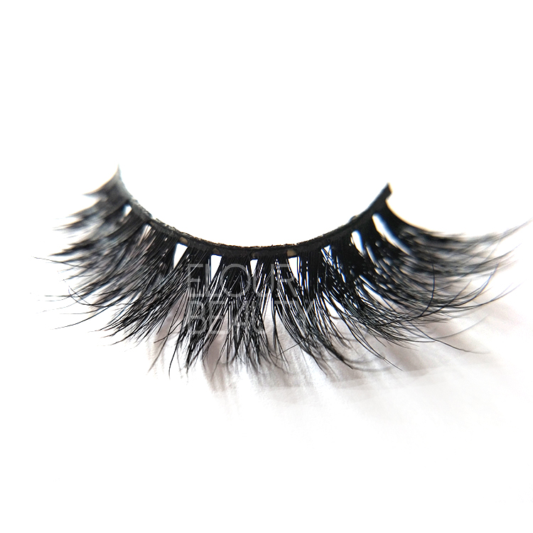 First class 3D Wispy Mink Strip Lashes manufacturer China ED108