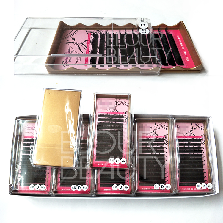Mixed tray novalash best eyelash extensions nyc wholesale ED119