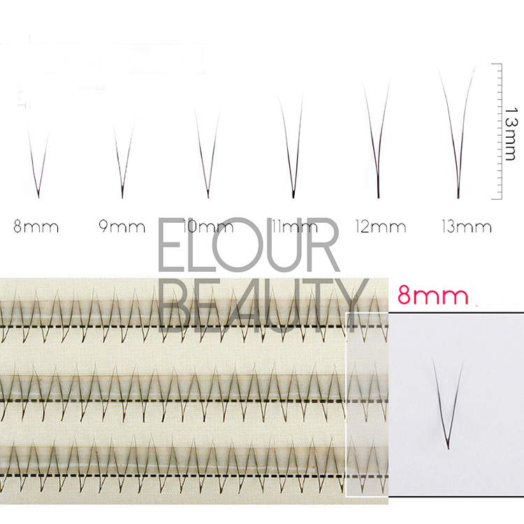 Wholesale individual permanent lash extension EJ07