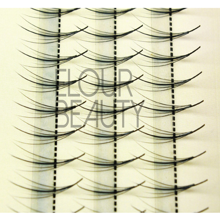 Professional soft individual eyelashes for permanent use EJ19